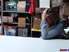 college babe blair williams bangs in the office