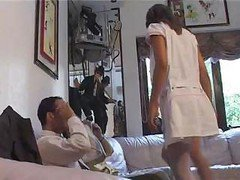 Naughty French Nurses Anal Foursome