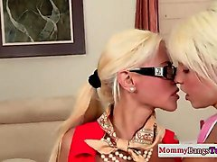 spex milf with teen fucking and sucking