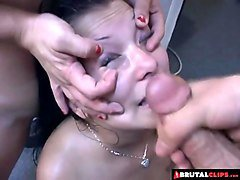 brutalclips - blinded by cum!