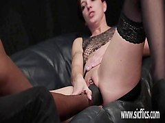 brutally fist fucked by her ebony bf till she squi